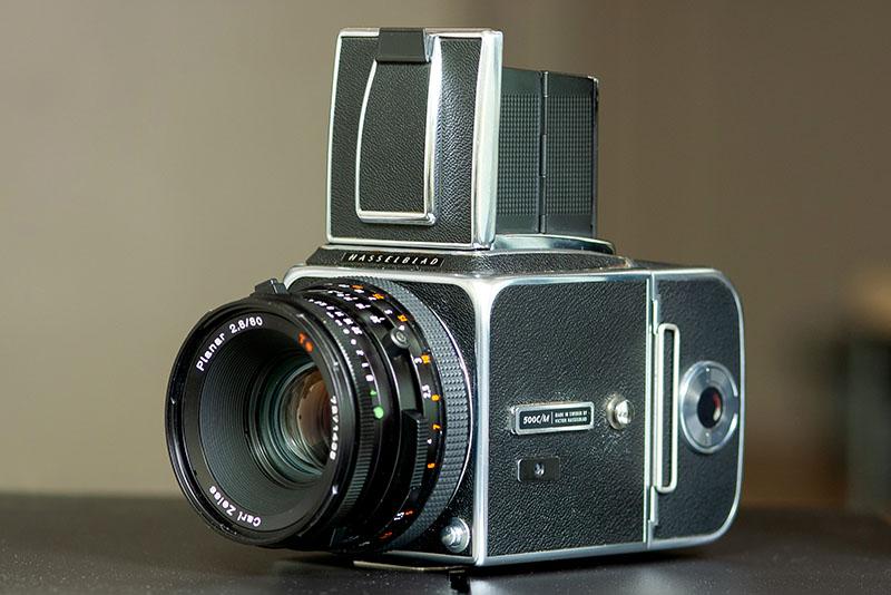 父の遺品のカメラがやってきた!!ハッセルブラッド500CMの紹介