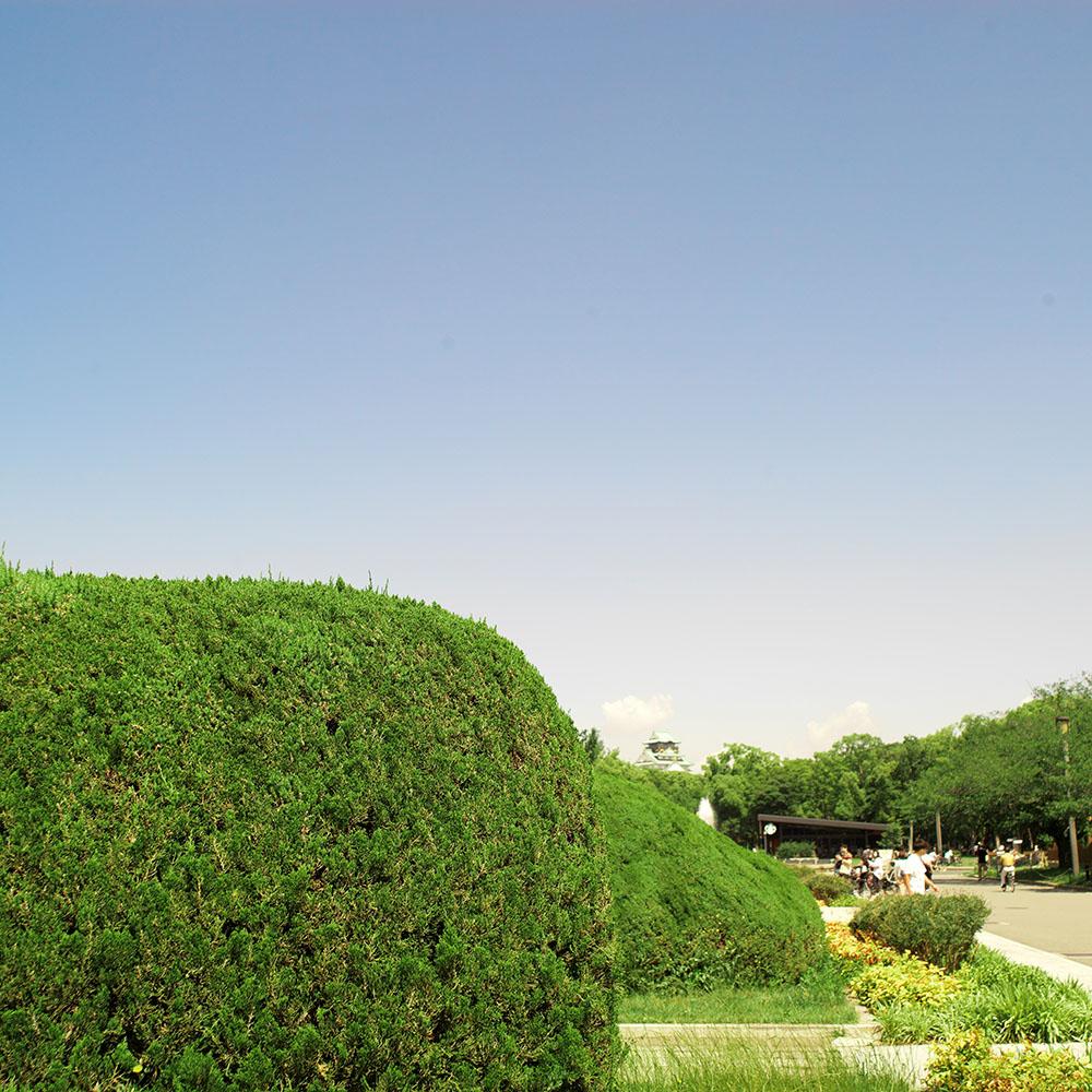 大阪城の森ノ宮側の入り口
