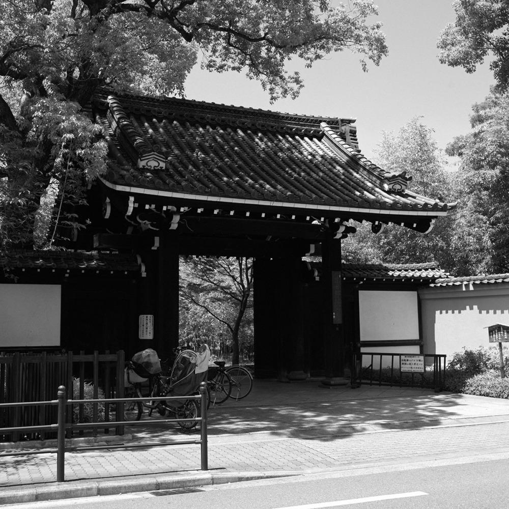 藤田邸跡公園の入り口