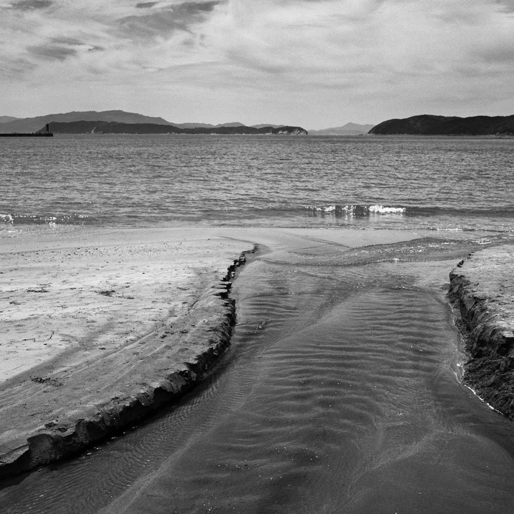 加太の砂浜