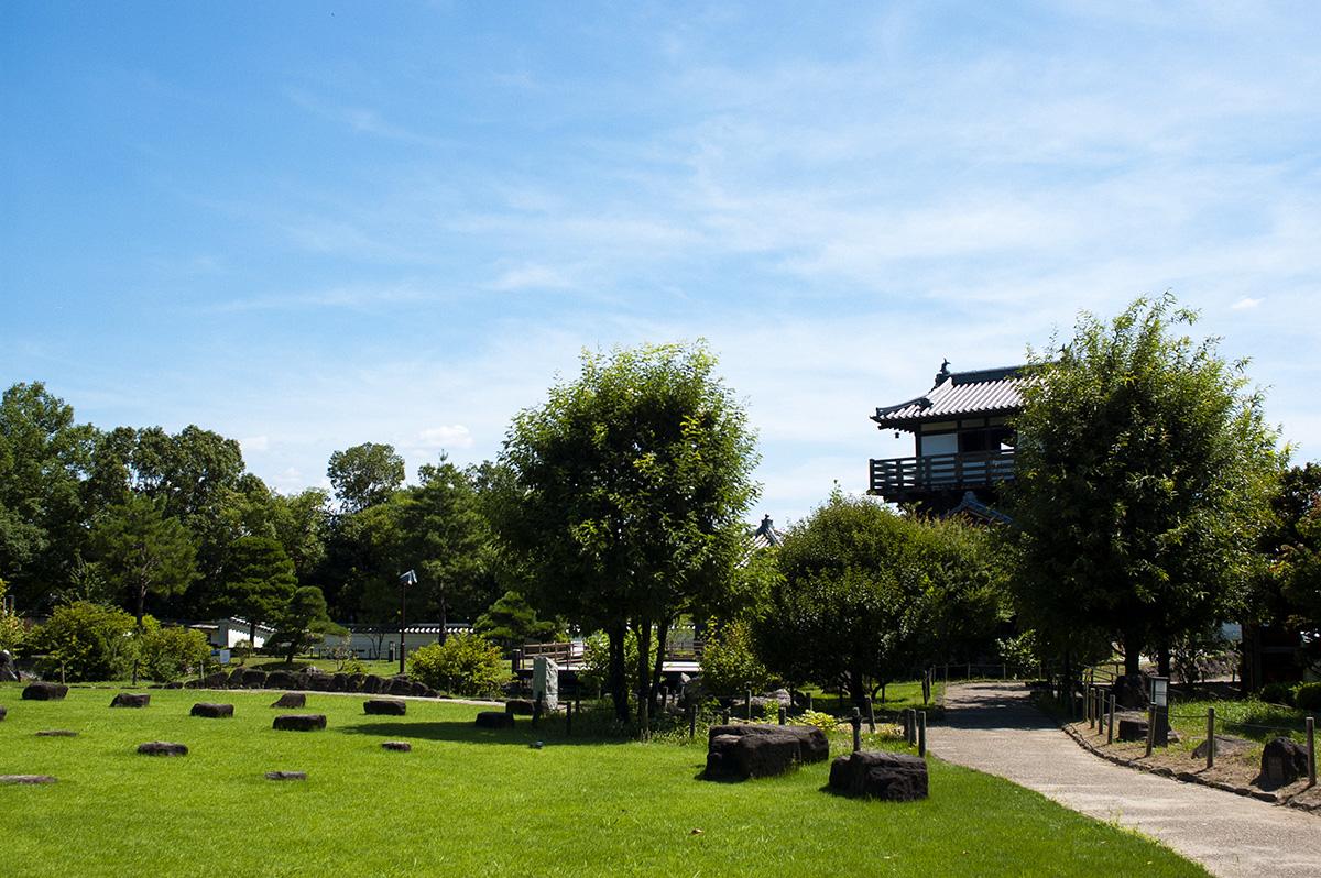 大阪府池田市の池田城跡公園の展望台に写真撮影に行ってきた