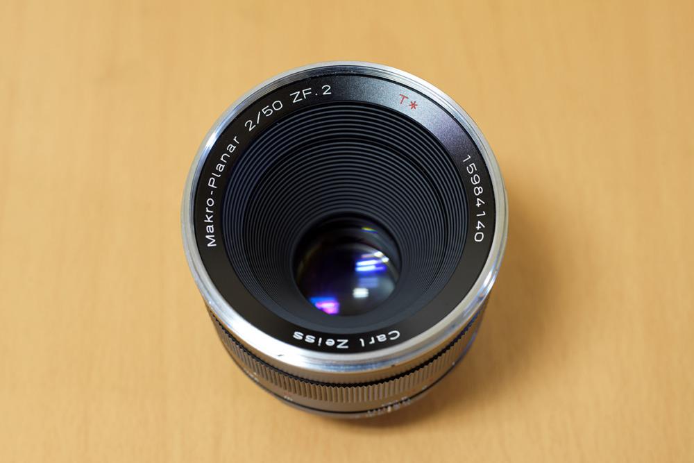 マクロプラナー 50mm/F2.0 ZF