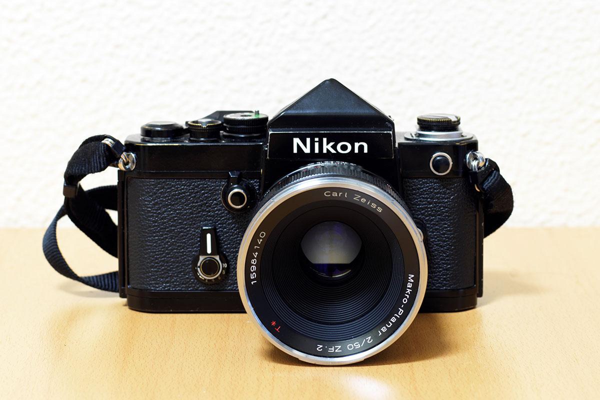 ニコンF2にマクロプラナー 50mm f2 ZF2.0