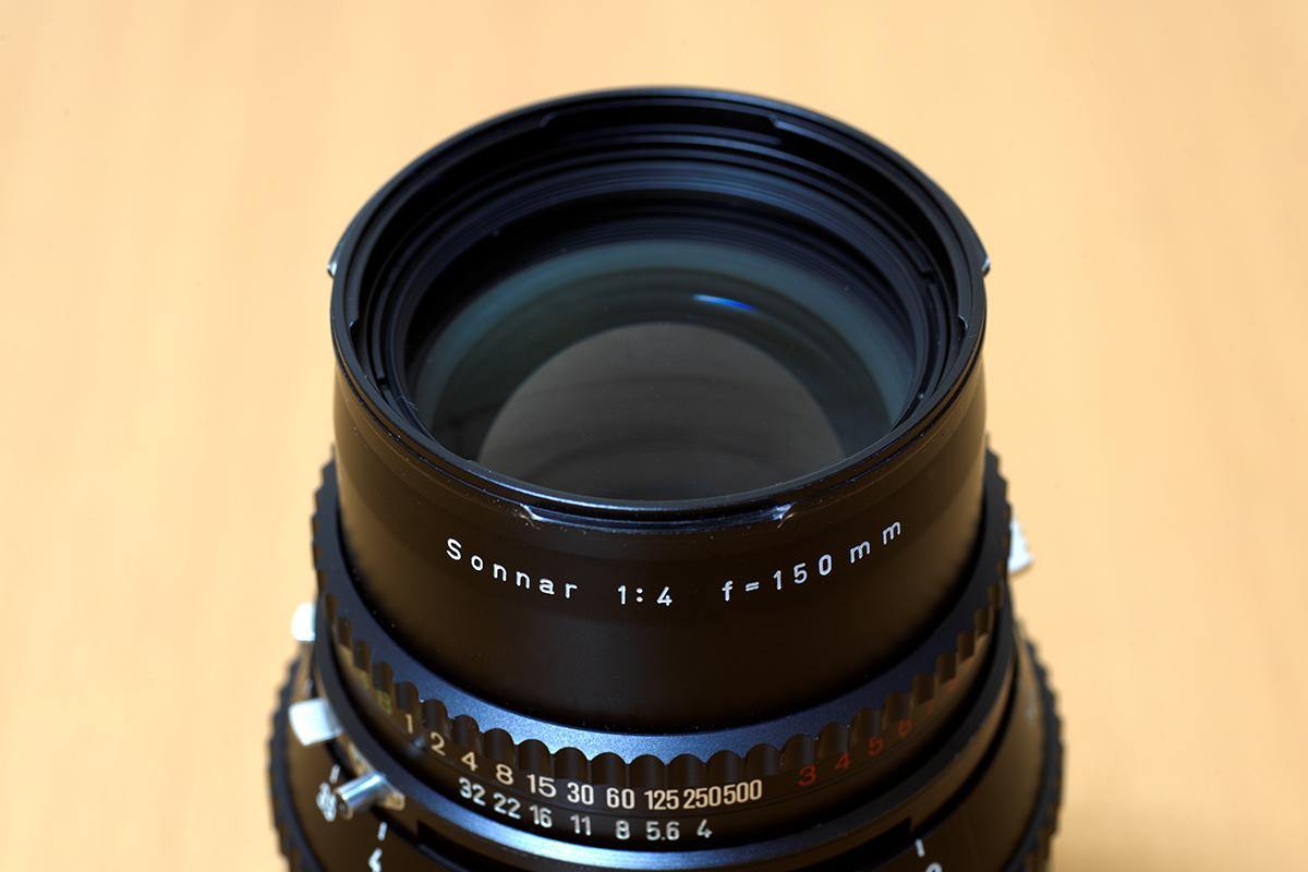 ゾナーC150mmの前玉