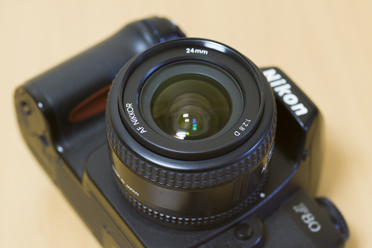 ニコンAI AF Nikkor 24mm f/2.8Dレンズを使った感想と作例