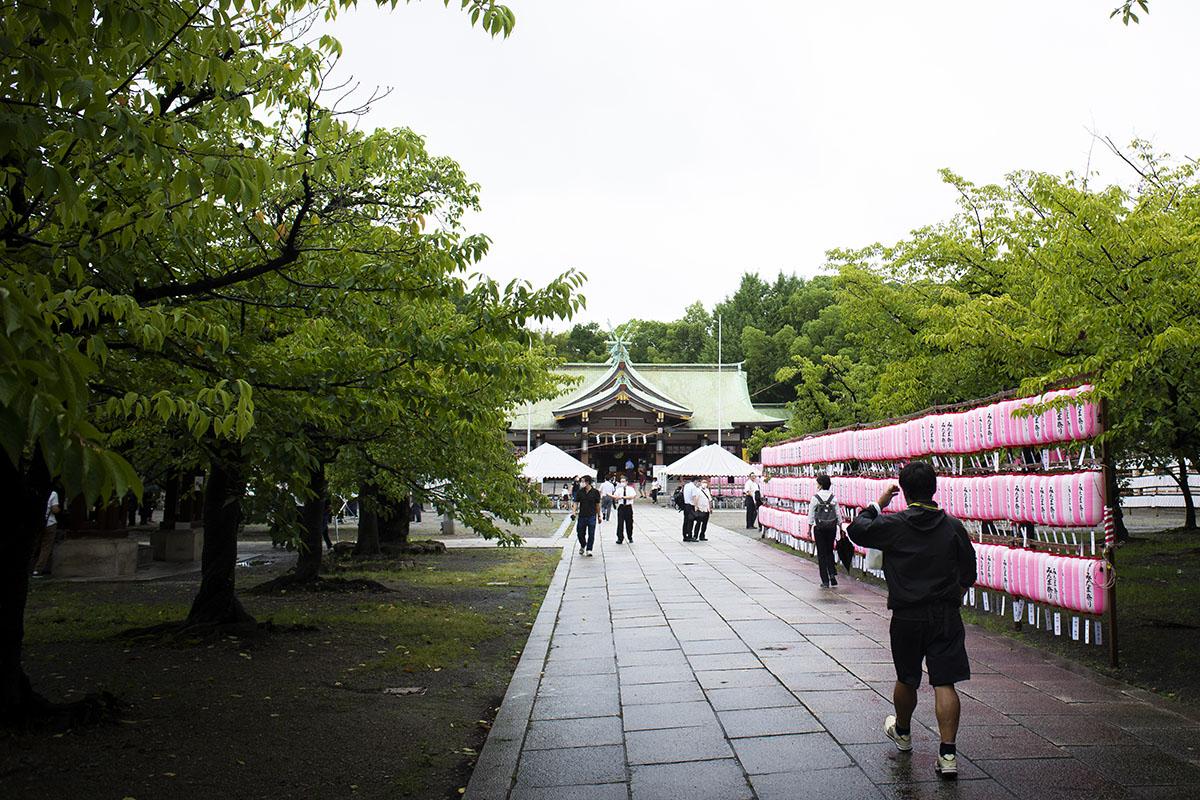 8月15日に英霊に感謝するために大阪護国神社に行ってきた