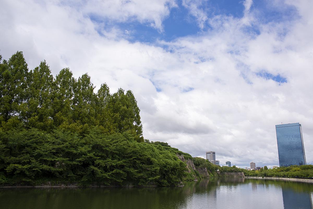 大阪城公園をNikon D600を持ってブラブラしながら撮影してきた