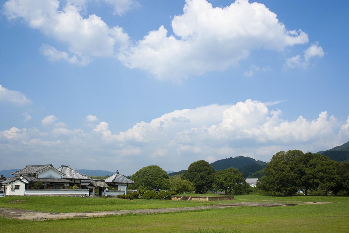 奈良県明日香村の川原寺跡に通りがかったので撮影をしてきました