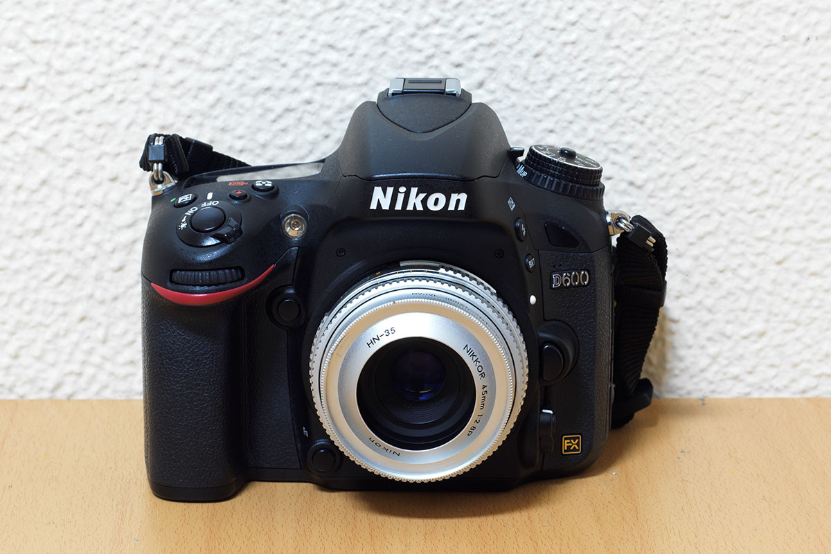 コスパ抜群のフルサイズ機Nikon D600を購入!!センサーのゴミは気にしない